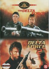 DELTA FORCE  + DELTA FORCE 2 ... CHUCK NORRIS, LEE MARVIN ...  COFFRET 2 DVD