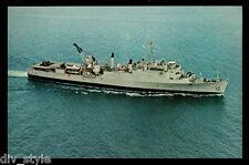 USS Hermitage lsd-34 Tarjeta Postal NOS MARINA EMBARCADERO Landing Enviar