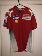 Alpinestars 2018 Ducati MotoGP Team Issue Camisa Polo. Usada. 3xl