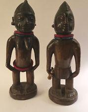 Statue antique tribal African Africa Nigeria Ibeji Yoruba 1900