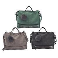 Women Leather Handbag Lady Shoulder Cross Body Bag Tote Messenger Satchel Purse
