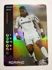 ADRIANO FOOTBALL CHAMPIONS FOIL HOLO 2003 2004 043 / 80 NUOVA PARMA 275 PUNTI