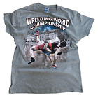 Wrestling T-Shirt Ringer T-Shirts Tee Sport Lutte Ringen Grappling