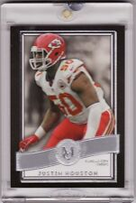 2015 Topps Museum Football – Justin Houston First Edition Blank Back 1/1
