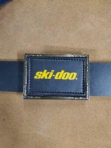 """Vintage 1970s Ski Doo Snowmobile Belt Buckle, for 1.5"""" Belt"""