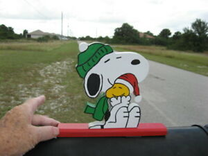 NEW Snoopy & Woodstock Friends Keeping Each other Warm Mailbox Topper Handmade
