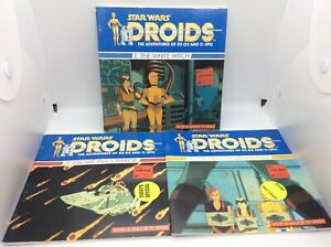 Star Wars Droids The Adventures Of R2-D2 And C3PO Book Lot 1987