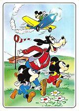 B99089 goofy mickey mouse with airplane plane avions minnie    disney