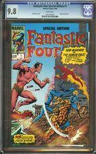 Fantastic Four Special Edition #1 CGC 9.8 John Byrne Wraparound Cover Marvel