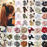 Sweet Floral Elastic Hair Rope Scrunchie Ponytail Holder Rubber Band Accessories