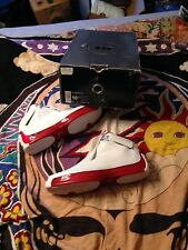 Vtg Nike Air Jordan XVIII 18 White Red Men's Size 10.5
