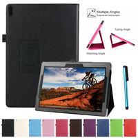 For Lenovo 10.1 Inch Tab E10 TB-X104F Tablet PU Leather Case Folio Stand Cover