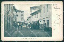 Pordenone città Via della Posta cartolina VK4535