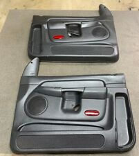 02-05 Dodge Ram 1500 Power Front Door Panels OEM From A Crew Cab Agate