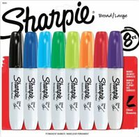 Sharpie 38250pp Permanent Marker - Marker Point Style: Chisel - Marker Point