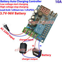 12V 24V 48V 10A Automatic Battery Charger Charging Controller Protection Board