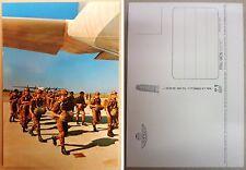 """Cartolina Postale """"FOLGORE - PARA' ALL'IMBARCO SU C130 """" - Anni '70/'80 (Rarità)"""