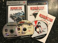3 X PLAYSTATION 2 PS2 Jeux Resident Evil Code: Veronica X + OUTBREAK & Dead Aim