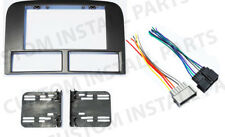 Double Din Radio Stereo Navigation Bezel Dash Kit Fits Jeep Grand Cherokee 99-01