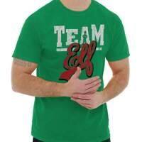 Team Elf Santa Claus Christmas Holiday Gifts Adult Short Sleeve Crewneck Tee