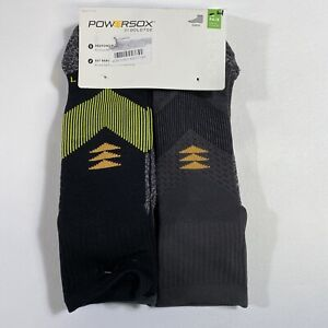PowerSox by GOLDTOE 4-Pack All Sport Ankle Socks Size 6-12.5 Large REPREVE