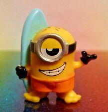 Despicable Me Mineez Series 1 #23 SURF'S UP MINION Mini Figure Mint Loose