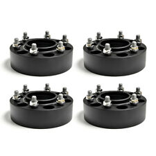 4 50mm Hub Centric Wheel Spacers Forged Adapters for Toyota Hilux 4WD 2004-2018