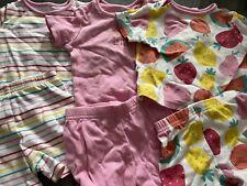 Baby Girls 3 Pack Short Pyjamas 3-6 Months George