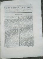 1789 'NUOVO GIORNALE D'ITALIA': OLIVI VALPOLICELLA FRIULI MARMO IN COLLI EUGANEI
