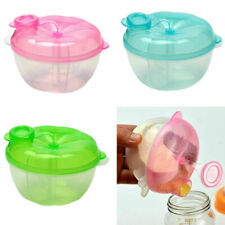 3 Doses Milk Powder Dispenser Holder Formula Container Baby Food Feeding Box New