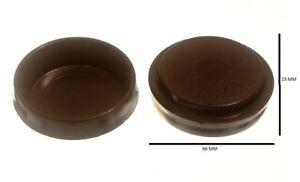Castor Cups Furniture Floor Protector Glides Plastic 60mm Pack 100