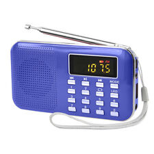 Portatile FM Radio Mini Digitale Stereo TF USB Lettore MP3 con 3.5mm Jack