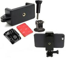 GoPro Rollei Handy Halterung Mount 3M Hero Aktion-Kamera Smartphone iPhone