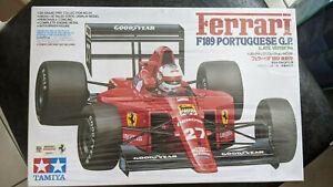 Tamiya 1/20 Ferrari F189 (pas 1/24)