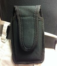 Holds the IPHONE 5 Otter Box Defender has belt loop. Great for Outdoor