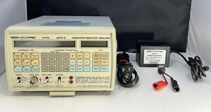 Sencore LC-102 Auto-Z Capacitor & Inductor Analyzer W/ Power Adapter Tested