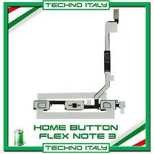 RICAMBIO HOME BUTTON FLEX PULSANTE TASTO per Samsung Galaxy NOTE 3 N9005 FLAT