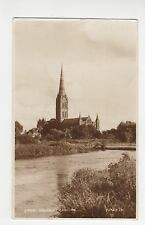 Salisbury Cathedral, Judges Postcard, A992
