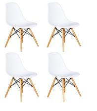 Pack 4 sillas de comedor Blanca  silla diseño nórdico NUEVO Patas Haya respaldo