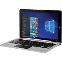 "EVOO EV-T2in1-101-2-SL 10.1"" HD Touchscreen Celeron N4000 1.1GHz 4GB RAM 32GB"
