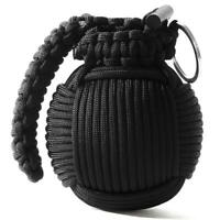 Outdoor Emergency Paracord Survival Kit Grenade Tools First Aid Camping