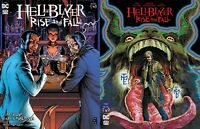 HELLBLAZER RISE AND FALL 2 Main + Variant Black Label DC Comics