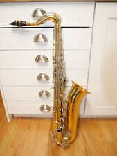 Bundy Tenor Saxophone Ser#551466 with soft case and accy's