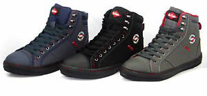 Lee Cooper Safety Steel Toe Cap Baseball Style Work Boots Trainers Hiker Size