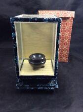 Japanese Mini Black Bowl in Tatami Room Display Box Decoration Home Decor