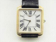 orologio longines manuale anni '80 argento 925 placcato oro 20 micron donna