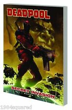 Deadpool Volume 1 Secret Invasion GN Daniel Way Paco Medina Skrulls X-Men New NM