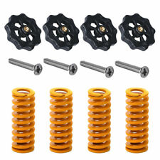 3D Printer Parts Heated Bed Spring Leveling Kit+M4*40 Screw Nut For CR-10 Yellow