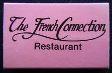 The French Connection Restaurant 300 New St Brighton 5925426 Matchbox (Mx27)