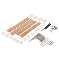 1 Set Clarinet Repair Parts Screws Pads for Wind Woodwind Accessories